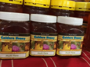 Honey with new labels